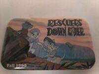 Promo Walt Disney Fall 1990 Rescuers Down Under Pin back Button