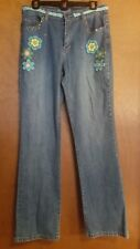 The Denim Tailor Boho Jeans 8 Crochet Embroidery Embellishments Hippie Festival