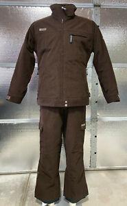 Morrow Snowboard Jacket & Pants - Mens S/M  - Corduroy - Vintage Rare - Ski Suit