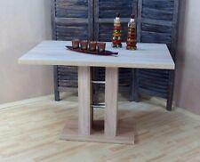 Esstisch Esszimmertisch Küchentisch Säulentisch Tisch Farbe: Eiche Sonoma