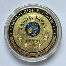 Florida Highway Patrol Challenge Coin