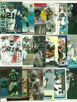 Tim Biakabutuka 70 Card Lot All Different See Scans NFL Football