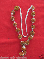 Shiva Rudraksha Siddha Mala 1 To 14 Mukhi With Ganesh Rosary Hand Made Rudraksh