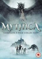 MYTHICA DVD COMPLETE1 - 5 FILMS BOX SET WIZARD POWER DARK PPOWER NEW SEALED.