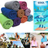 Ice Cold Enduring Running Jogging Gym Chilly Pad Instant Cooling Towel Sports