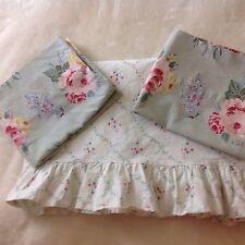 Ralph Lauren  3 Piece Cottage Lane Petticoat  Sheet Set