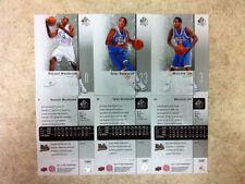 Russell Westbrook Tyler Honeycut Malcolm Lee UCLA Rookie 2011-12 SP Basketball