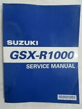 Suzuki Used GSX-R1000 2001-2004 Factory Shop Manuel 99500-39310-01E