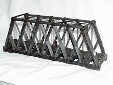 86' HOWE TRUSS THROUGH BRIDGE O Standard Gauge Railroad Wood Kit HL103O