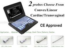 Ecografo digitale macchina portatile laptop, 2 sonde, garanzia 2y, CE, CMS600P2