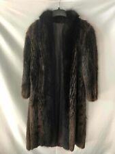Jellybean Brown Beaver and Fox Fur Coat - Women's Size Xl