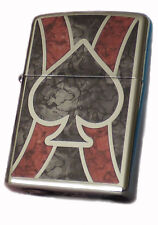 ZIPPO LIGHTER ● Ace of Spades Fusion Choice ● 60001608 ● NUOVO NEW OVP ● a33