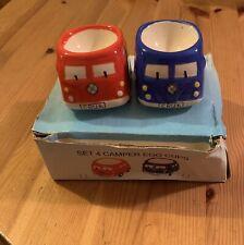 Set Of 4 Campervan Egg Cups