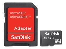 Sandisk 32GB micro SDHC tarjeta de memoria para Móviles Teléfono