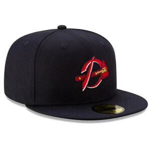 DANVILLE BRAVES NEW ERA HAT 59FIFTY MiLB FITTED MINOR LEAGUE BASEBALL CAP
