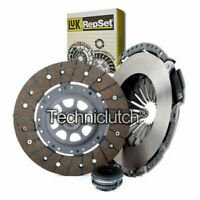 LUK 3 PART CLUTCH KIT FOR AUDI 80 ESTATE 2.8 QUATTRO