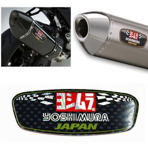 1pc Yoshimura Aluminium Heat-resistant Motorcycle Decal Exhaust Pipes Sticker