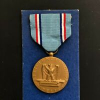 Vintage Air Force Good Conduct Medal Blue Ribbon USAF Military USA