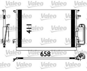 1 Condenseur, climatisation VALEO 817647 convient à FIAT OPEL SAAB VAUXHALL