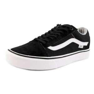 Vans Mens Old Skool Lite Low Top Lace Up Fashion, (Hemp)Black/White, Size 8.5 zg