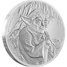2016 STAR WARS YODA 1oz Silver Proof Disney Coin