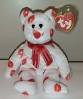 Ty Beanie Baby - SMOOCH the Kisses Bear - MINT with MINT TAGS
