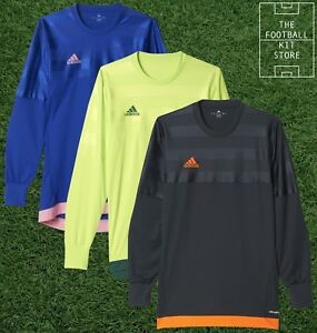 adidas Entry Goalkeeper Shirt - GK Football Jersey Mens With Padding - All Sizes