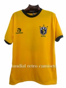 Brasil mundial 1982 Socrates Zico jersey camiseta maglia (retro)