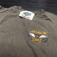 Vintage 80's Pleasure Island Avigators Supply T-Shirt Men's M Disney World Land