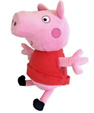 """New Peppa Pig Plush Doll 14"""" Inches Stuffed Animal Toy Authentic Licensed NWT!"""