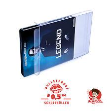 10 Klarsicht Schutzhüllen BLU RAY STEELBOOK [10 x 0,5MM [ARMOURED]BLU RAY STEEL]