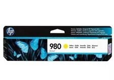 HP 980 (D8J09A) Yellow 83.0-ml OfficeJet Printer Toner Ink Cartridge EXP 1/2019