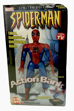 Marvel Spider-Man Action Bank Limited Edition Way Out Toys New & Sealed 2002