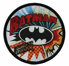 """Batman Burst Iron On Patch 3"""" Free Shipping Officially Licensed P-DC-0074"""