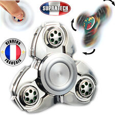 Toupie Anti Stress Hand Spinner Roulette Russe Argent Roulement à Billes Rapide