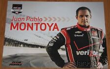 2014 Juan Pablo Montoya Verizon Chevy Dallara Indy Car postcard