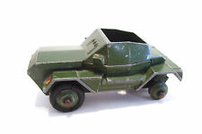Dinky Scout Car 1954 No 673 Army Military Meccano England Vintage Diecast
