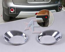 Chrome Rear Fog Lights Lamp Mask Cover Molding Trim for Nissan Qashqai 07-12