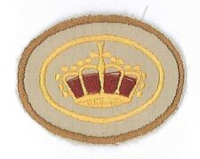 SCOUTS OF HOLLAND (THE NETHERLANDS) - QUEEN'S SCOUT Highest Rank Top Award Patch