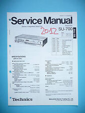 Service Manual pour technics su-700, original