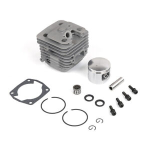 45CC Engine Cylinder With Double Ring Piston Kit For 1/5 Hpi Km Rv Baja Losi FG