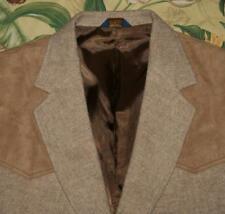 Mens PENDLETON Khaki Wool Western Style Blazer Jacket 46
