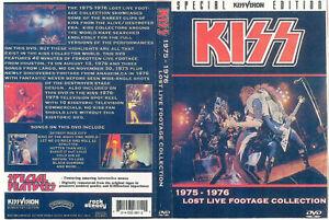 Kiss: (Lost Footage) Largo,MD 1975/Houston,TX 1976