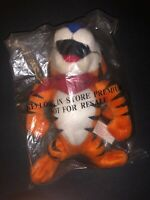 "In Package Vintage 1997 8"" Tony The Tiger Plush Toy KELLOGS FROSTED FLAKES"