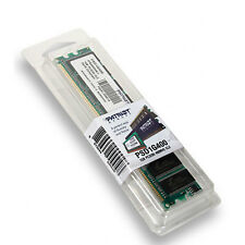 Memoria Ram Patriot DDR 1GB PC-3200 PSD1G400 PS000061 Memory 400MHz Nuevo