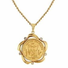 NEW American Coin Treasures French Angel Coin Pendant 5680