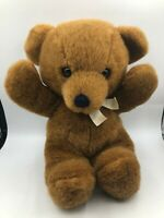 Vintage 1979 R Dakin Brown Teddy Bear Bow Tie Plush Soft Stuffed Toy Animal Doll