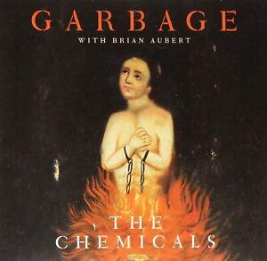 "GARBAGE WITH BRIAN AUBERT The Chemicals (2015) RSD Orange vinyl 10"" NEW/SEALED"