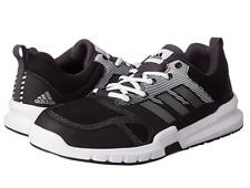 Adidas Essentials 3 para Hombre UK 12 UE 47 1/3 Negro/Blanco Zapatos de entrenamiento tenis