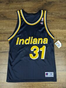 Vintage Champion Indiana Pacers Reggie Miller Jersey Brand New Size: 40/Medium